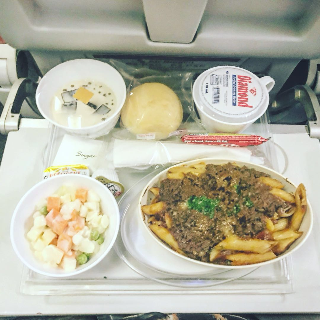 nauru beef pasta and potato salad