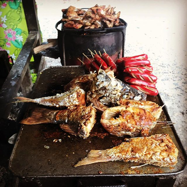 Parrot Fish Honiara BBQ
