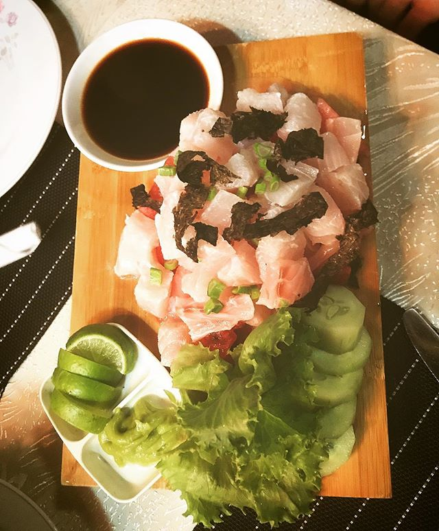 snapper sashimi honiara solomon islands