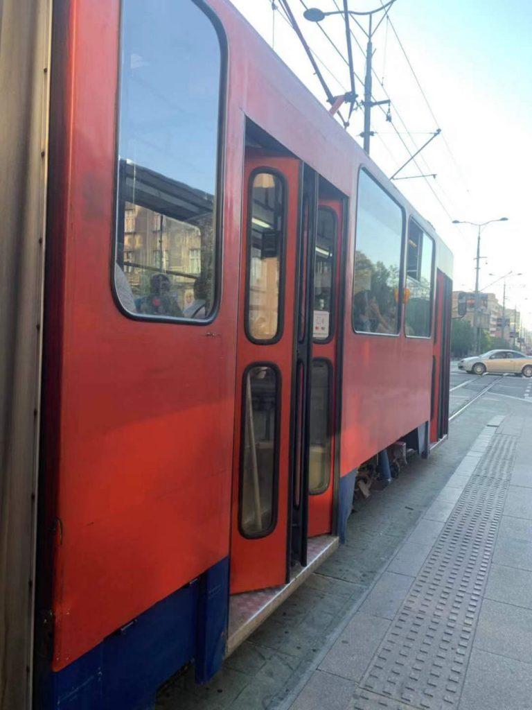trams in Belgrade